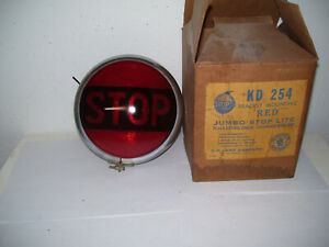 Vintage Stop Light Antique Truck Auto Lighting Rat Rod Hot Rod Kd New In The Box