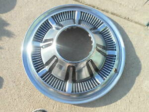 1 Vintage Ford Bronco 1966 To 1977 Hubcap Hub Cap Wheel Cover Truck F100 F150
