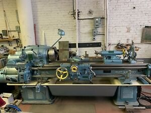 Excellent Condition Pratt Whitney Engine Lathe 14 X 54 Model C