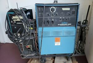 miller Syncrowave 300 Ac dc Single Phase Gas Tungsten Arc