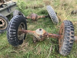 Front And Rear Rockwell 2 5 Ton Axles M35a2 Military