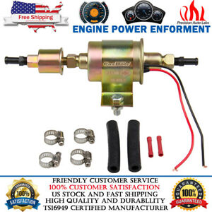 Universal 12v External Electric Fuel Pump Installation Kit 5 9 Psi 30gph Ga8012s