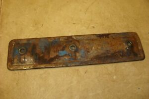 1962 Ford 2000 Tractor Side Engine Plate Inspection Cover 600 800 4000