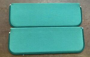 Vintage Nos 1950 S 1980 S Green Sun Visors 17 1 2 X 6 Chevy Gm Ford Hot Rod