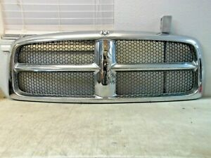 Dodge Ram 1500 2500 3500 2002 2003 2004 2005 Front Grill Grille Oem 55077477ae