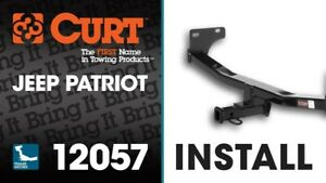 Patriot Curt 12057 Class 2 Trailer Receiver Hitch Wiring Ball Ball Cover