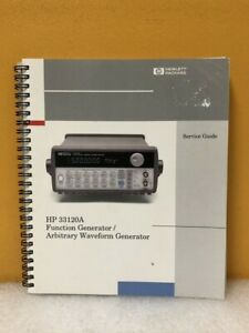 Hp 33120 90014 33120a Function arbitrary Waveform Generator Service Guide