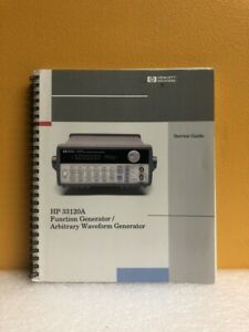 Hp 33120 90013 33120a Function arbitrary Waveform Generator Service Guide