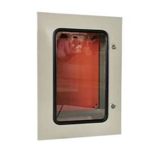 24 X 16 X 10 In Steel Electrical Enclosure Cabinet With Window Ip65