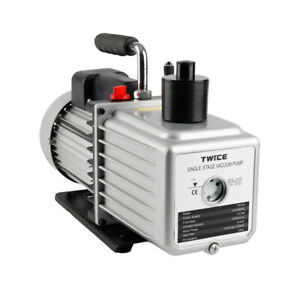 Twice Tw 5a 11cfm Single Stage Rotary Vane Vacuum Pump