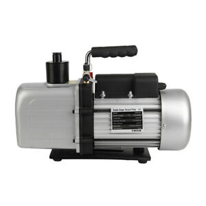 Twice 2tw 4c 9 6cfm Double Stage Rotary Vane Vacuum Pump