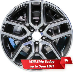 New Set Of 4 20 Machine Charcoal Alloy Wheels Rims For 2011 2019 Ford Explorer