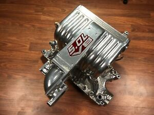 Powdercoated Chrome Ford Explorer Gt40 5 0 Intake Manifold Cobra Style Amazing