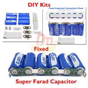 Super Farad Capacitor 17v 566f 2 85v 3400f Car Backup Component Power Capacity