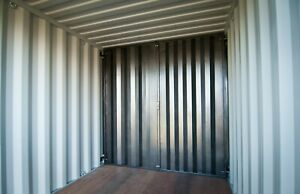 Cargo Container Secure Steel Bolt In Wall Divider No Welding Free Shipping