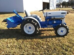 Compact Tractor 4wd Diesel Mitsubishi satoh S370d Compact Tractor