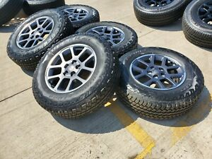 18 Jeep Gladiator Overland Oem Wheels Rims At Tire Wrangler 96494 2019 2020 New