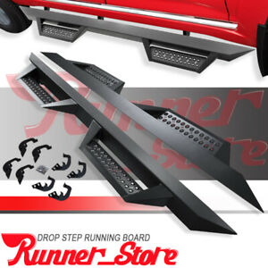 For 07 18 Chevy Silverado Double Cab 4 5 Running Board Nerf Bar Side Step Bz