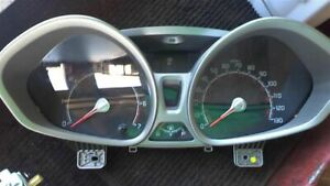 11 2011 Ford Fiesta Speedometer Cluster Mph