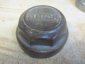Buick Brass Grease Cap Wheel Barring Dust Cover Automobile Hubcap 1920s Center