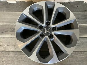 Single 18 Wheel For 2013 2015 Honda Accord Oem Quality Factory Alloy Rim 64048