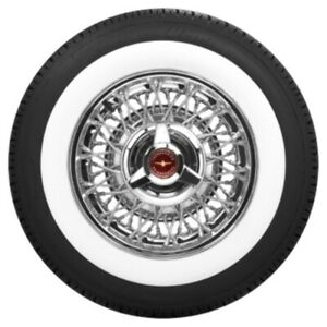 Coker American Classic 2 1 2 Wide White Wall Radial Tire P215 75r14