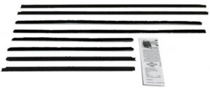 Window Sweeps Felt Kit For 1965 Buick Skylark Convertible Replacement 8 Pc