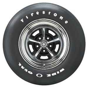 Coker Firestone Wide Oval Raised White Letter Classic Muscle Car Tire Fr70 15