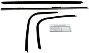 Window Sweeps For Chevrolet Impala Custom 1971 1976 2dr Coupe Authentic 4pcs