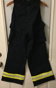 Firefighter Ems Medic Nomex Wear Pants Double Stitched Pockets 28 32 Dupont