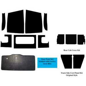 Cab Cover Panel Kit For 1948 1950 Dodge Truck Abs Plastic Complete