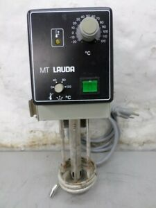 Lauda Model Mt Water Bath Circulator Heater 115 Volt Ac
