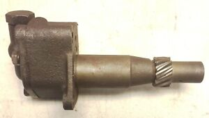 Wwii Willys Mb Ford Gpw Used Take Off core Engine Chain Drive Oil Pump G503