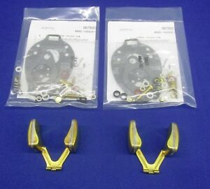2 Each Fits Lincoln Welder Sa 200 Blackface Marvel Tsx Carburetor Kit W Floats