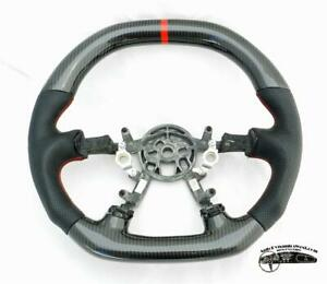 C5 Corvette Custom Dd Steering Wheel Real Carbon Fiber W Red Stitching