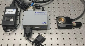 Pi Micros Rs 40 Rotary Stage W Mercury C 863 Dc Motor Controller Beautiful