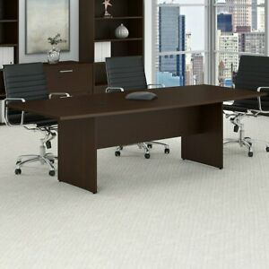 Boat Shaped Conference Table Meeting Seminar Office Business Furniture 7ft New