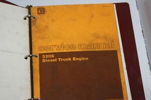Caterpillar Cat 3208 Diesel Truck Engine Service Manual