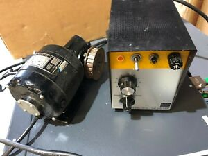 Vintage Bodine Dc Motor Control And Series 400 Control Motor