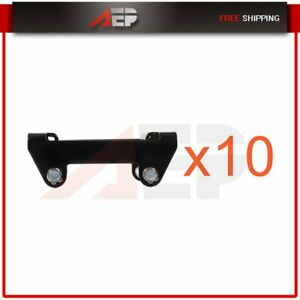 Recovery Winch Fairlead Guide Steel Cable Bolt Pattern Atv Utv Roller 10pcs