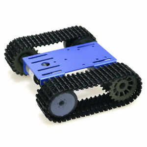 Tracked Robot Smart Car Platform Tank Crawler Chassis Solid Tank Mobile Toy R1k0