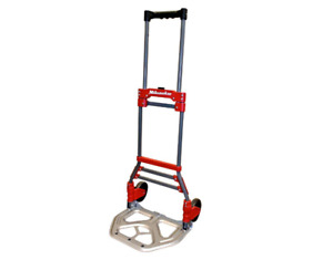 Folding Hand Truck Portable Moving Cart Durable Light Weight 150 Lb Capacity
