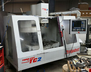Bridgeport Torq Cut 2 4 axis 5 Hp Cnc Mill 240 V 4 Local Pickup In Colorado