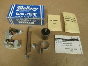 1957 up Mallory Dual Point Conversion Kit 25585 Ford Lincoln Mercury