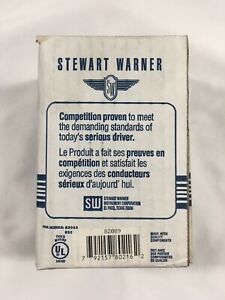 Stewart Warner Electric Fuel Pump M 82089 12v 7 Psi 52 Gph Gas Diesel Bio New