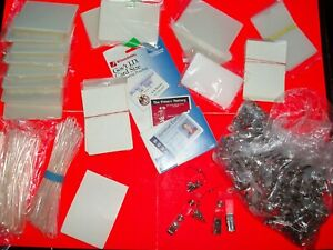 Laminating Pouches Thermal Self seal W Clips Lanyards