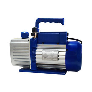 7cfm Single stage Rotary Vane Economy Vacuum Pump 1 2hp 110v 60hz