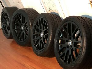 Beyern Spartan 19inch Rims And Tires Matt Black