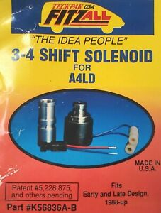 A4ld 3 4 Overdrive Shift Solenoid