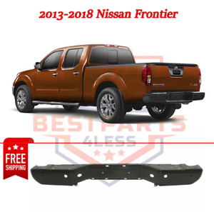 New Step Bumper Rear Face Bar For 2013 2018 Nissan Frontier